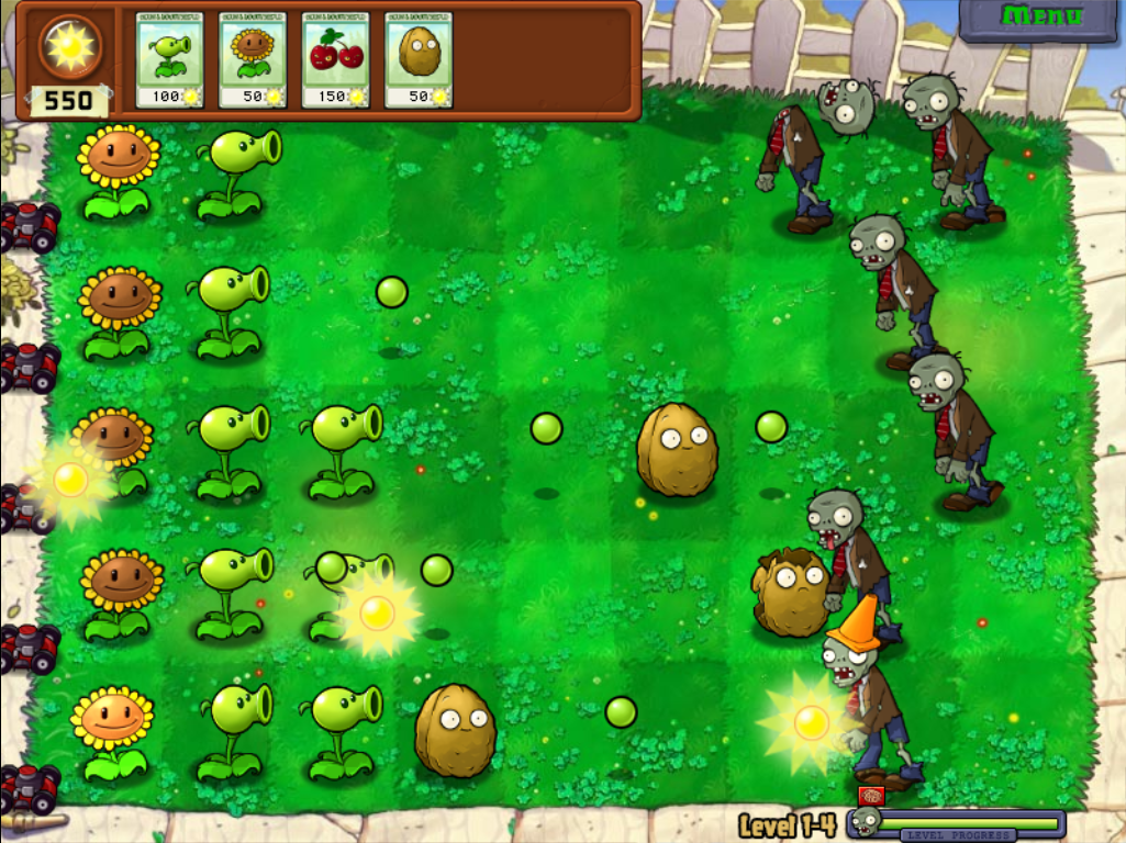 Подарки в plants мы zombies